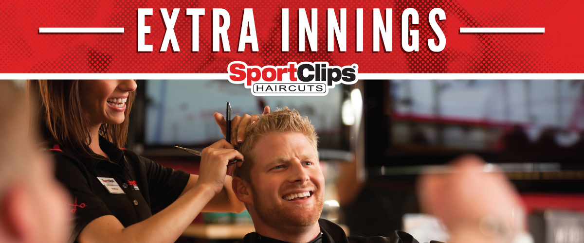 The Sport Clips Haircuts of Rincon Extra Innings Offerings